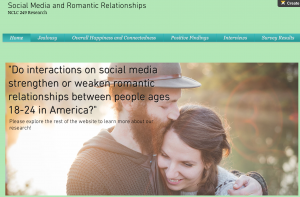 Social Media and Romantic Relationships Project